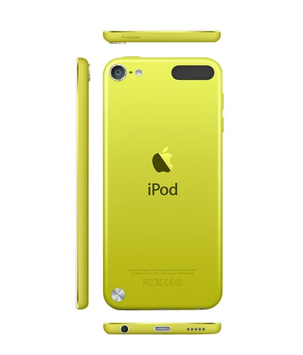Apple iPod Touch 32GB 5th Generation (Yellow): Buy Online ...