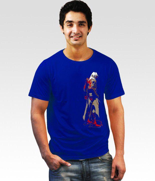 Incynk Blue Red Assasin T-Shirt