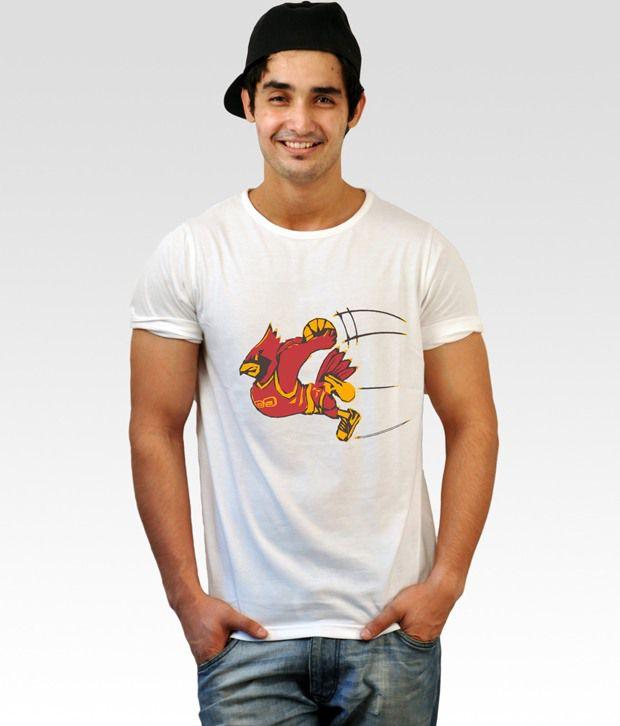 Incynk White Dunk Duck T-Shirt