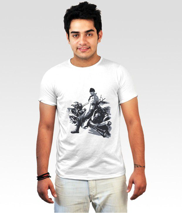 Incynk White Hit the Road T-Shirt