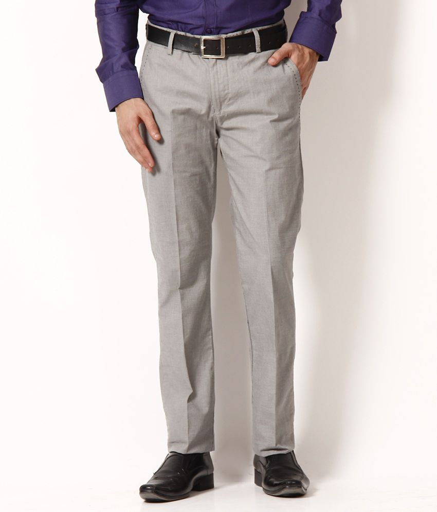 Highlander Charming Gray Trousers