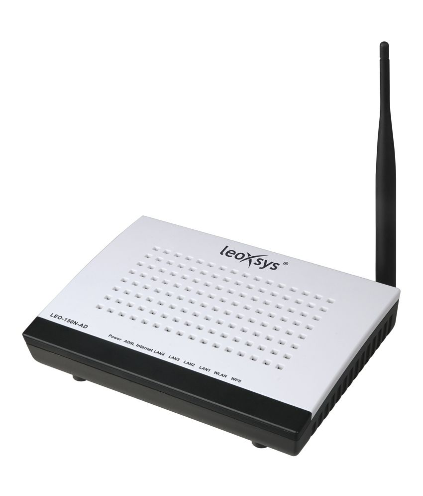 Leoxsys 150 Mbps Wireless Routers With Modem (LEO-150N-AD)Wireless Routers With Modem