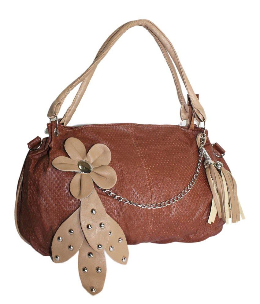 Moda Desire Brown Hillary Handbag