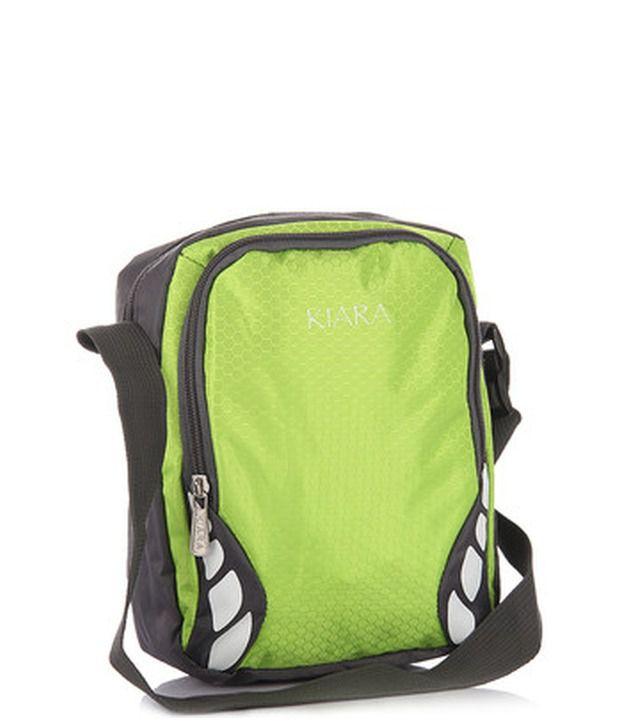 Kiara 10564-F-Green Cross Body Sling Bag