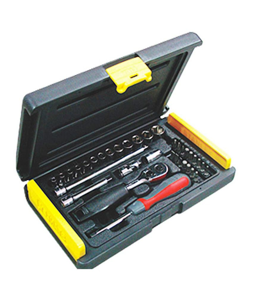 Stanley - Mechanic Tools Kit - 1-89-033 Socket and Bit Set (35 PC)