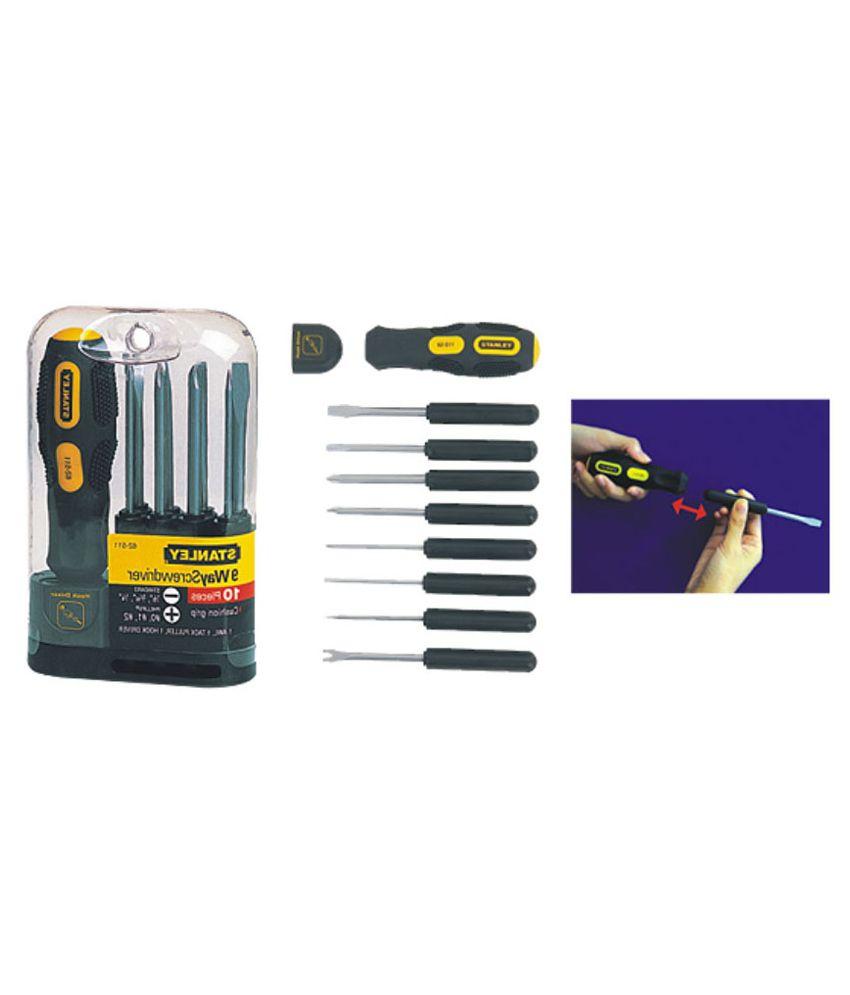 Stanley - Screwdrivers & Keys - 62-511-22 9 Way Screwdriver Set