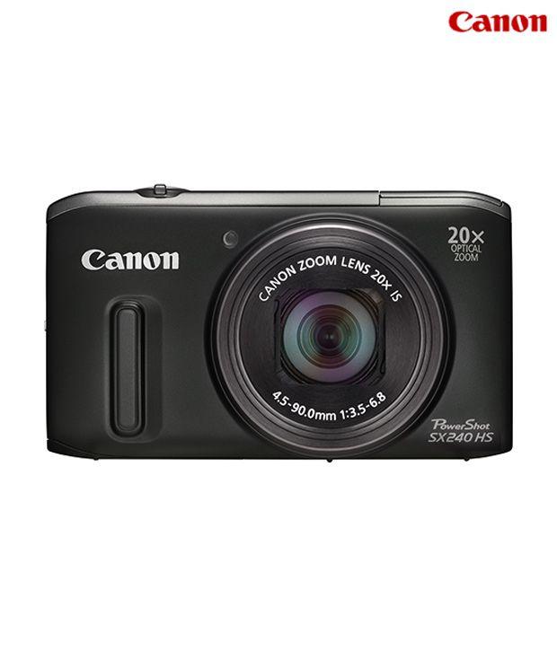 Canon Powershot SX240HS 12.1MP Digital Camera