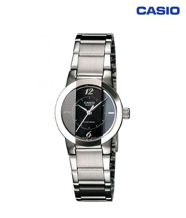 9e402ff19b0 Casio Classic Analog LTP-1230D-1CDF (SH33) Women s Watch Price in India   Buy Casio Classic Analog LTP-1230D-1CDF (SH33) Women s Watch Online at  Snapdeal