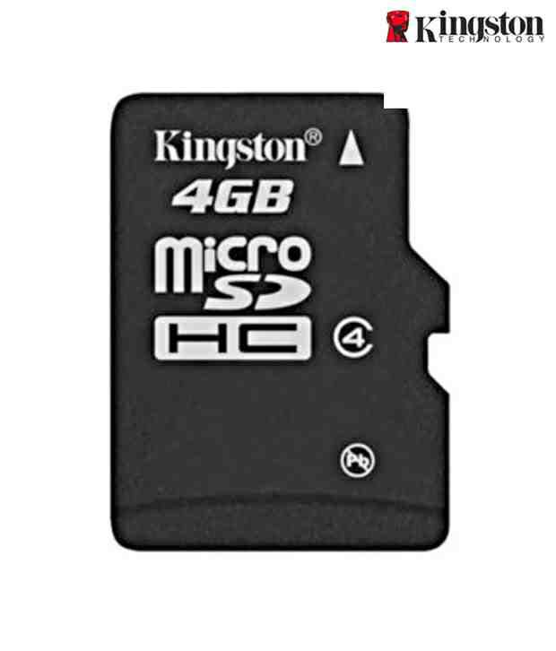 Kingston 4GB Micro SD Memory Card