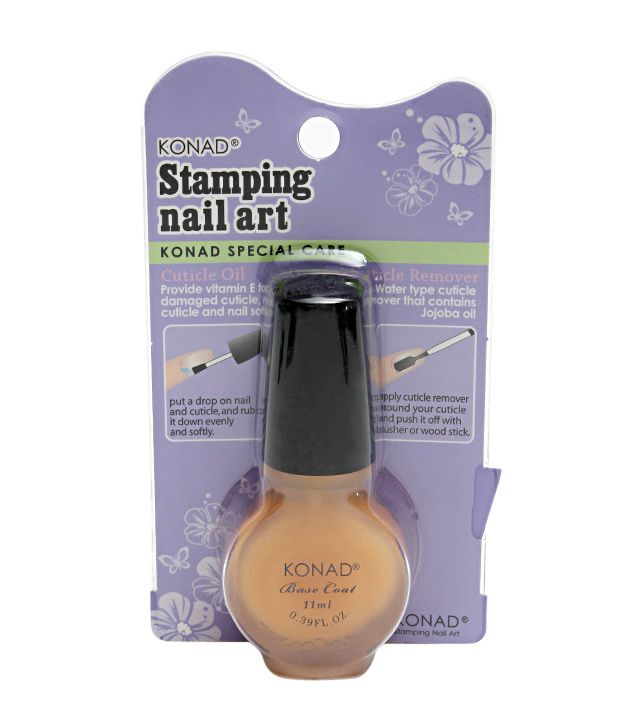 Konad Stamping Nail Art Base Coat 11ml Buy Konad Stamping Nail Art