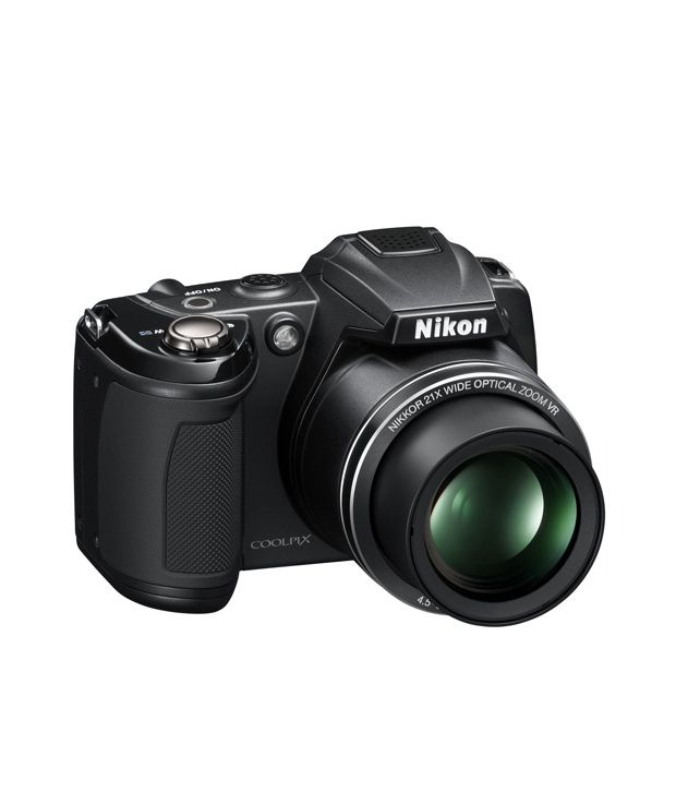 Nikon Coolpix L310 14.1MP Semi-SLR Camera (Black) Price in ...