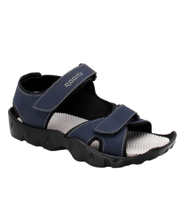 Roony Blue Floater Sandals
