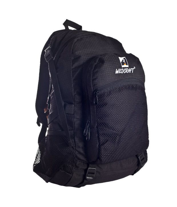 Wildcraft Adventurous Black Travel Backpack