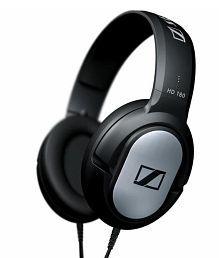 Sennheiser HD 180 Over Ear Headphone (Black) Without Mic