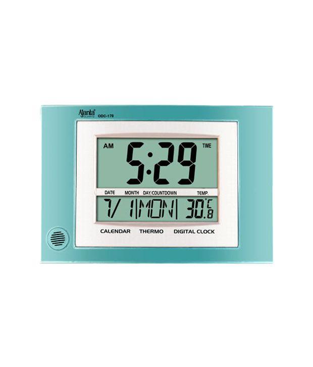 Ajanta Digital Wall Clock Odc 170 Buy Ajanta Digital Wall Clock Odc