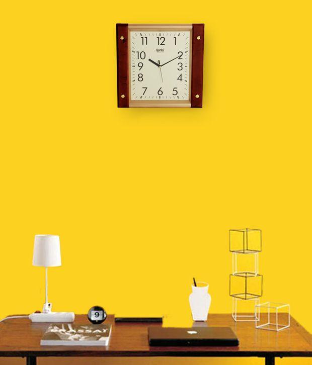 ajanta square wall clock buy ajanta square wall clock at