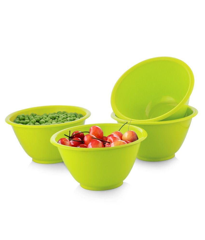All Time Celestial Green Opaque bowls- 4 Pcs  available at snapdeal for Rs.131