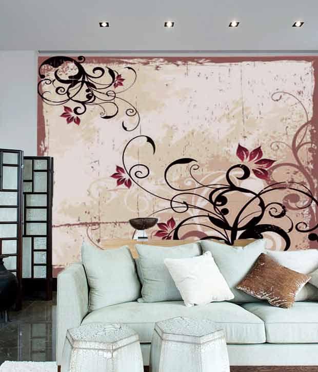 artjini floral wall paper buy artjini floral wall paper