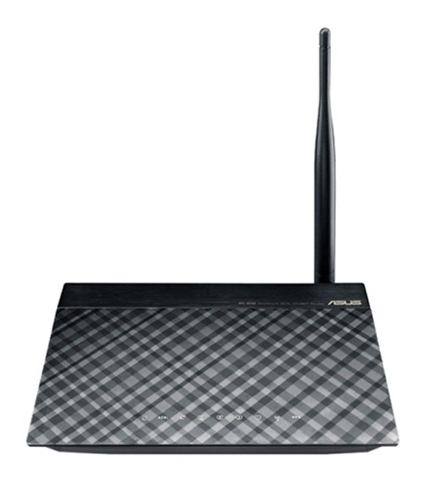 Asus 150 Mbps N150 ADSL Wireless Router (DSL-N10E)Wireless Routers With Modem