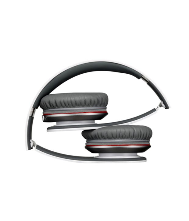 c92c06c77f2 Buy Beats Solo HD Over Ear Headphones with Mic (White) Online at ...