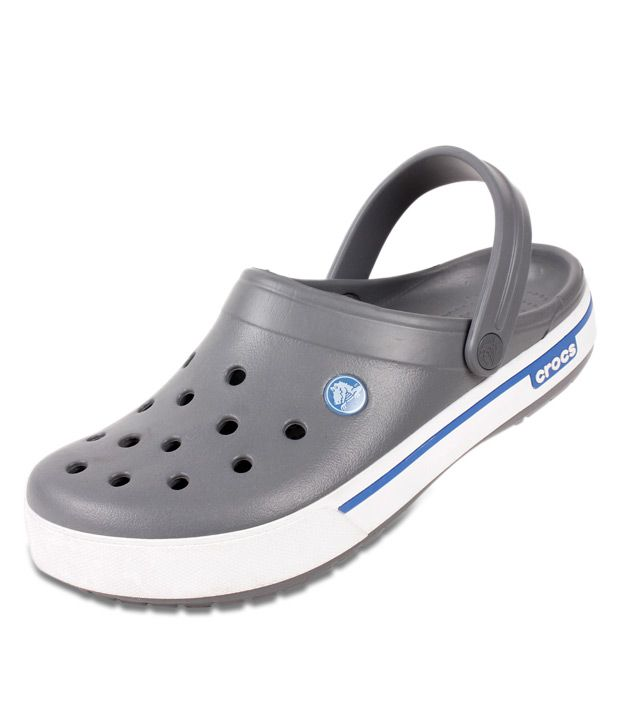 4de7ebf6f Crocs Charcoal Grey Crocband II.5 Clog Shoes - Buy Crocs Charcoal ...
