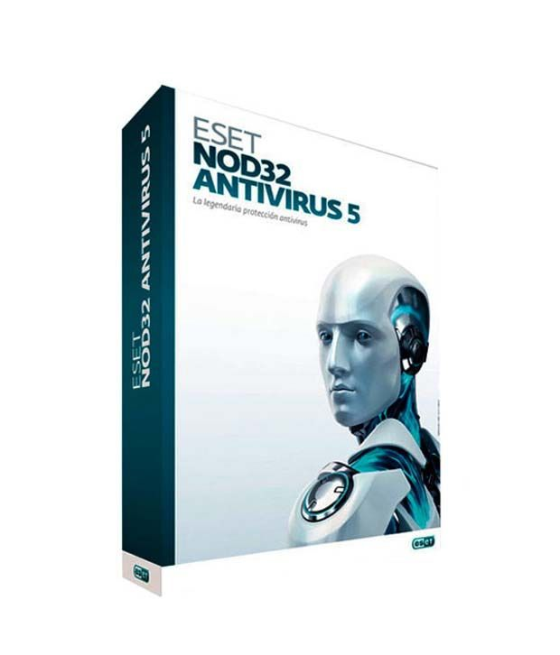 Eset NOD32 Antivirus Version 5, 2012 (3 PC/1 Year)