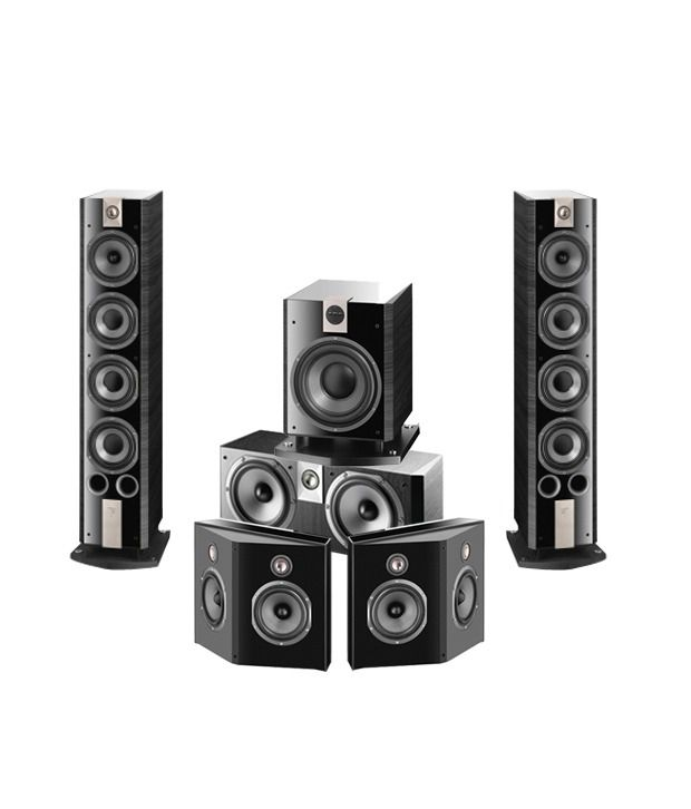 Focal Chorus 836V with Chorus CC800V and Chorus SR 800V and Chorus SW 800V Speaker System