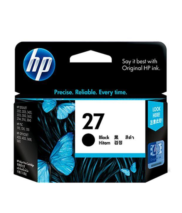 HP 27 Black Inkjet Crtg AP