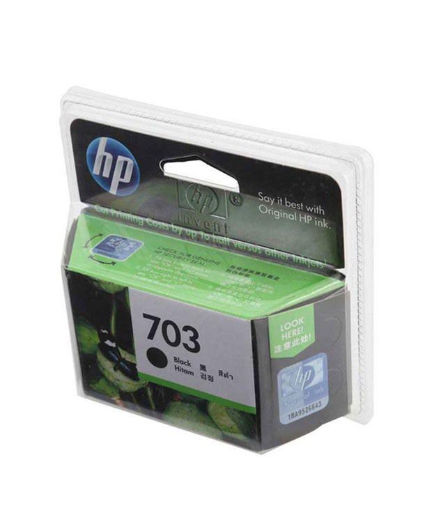 HP 703 Inkjet Cartridge (Black)