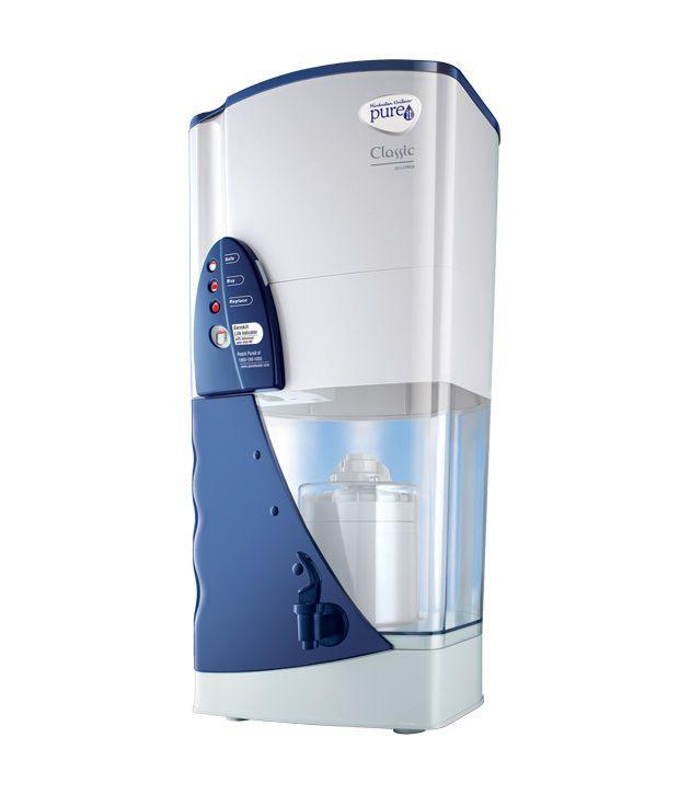 HUL 23 Ltr Pureit Classic Gravity Water Purifier - Blue