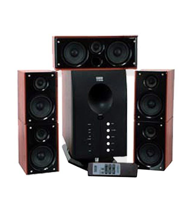 Buy Intex It4800w 5 1 Speaker System Online At Best Price In India Snapdeal