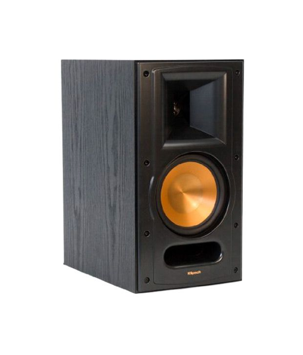 buy klipsch rb 61 ii reference series bookshelf loudspeaker black pair online at best price in. Black Bedroom Furniture Sets. Home Design Ideas