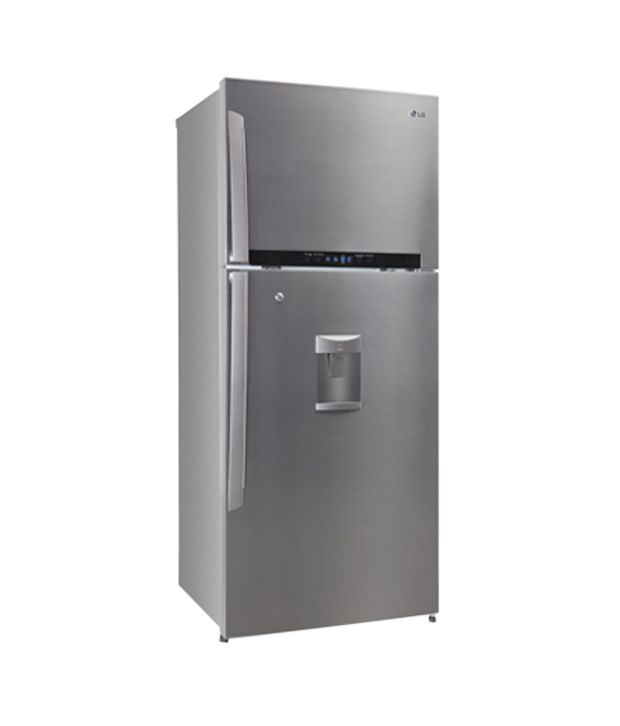 Lg 420ltr Gl 479gsxd4 Double Door Refrigerator Stainless Steel