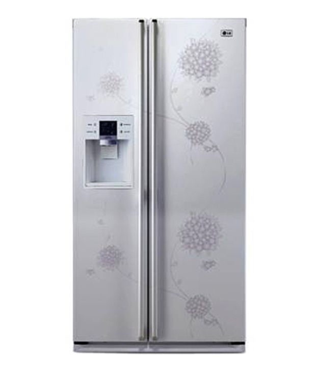 Lg 567ltr Gc L217bpxv Side By Side Refrigerator White Price In India