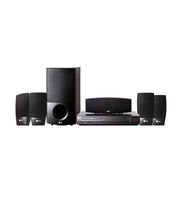 24487a78da1 Buy LG HT604SK-A2 5.1 DVD Home Theatre System Online at Best Price in India  - Snapdeal