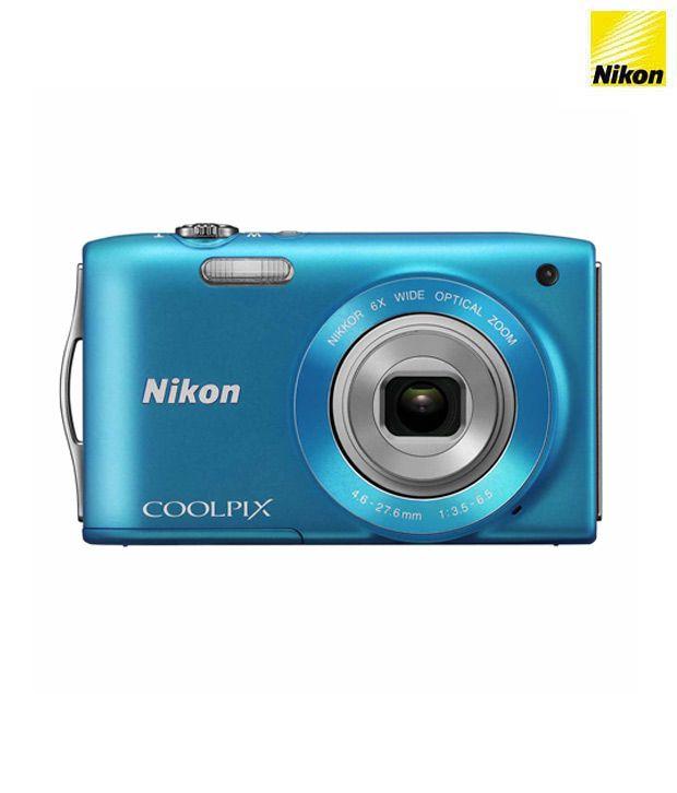 Nikon COOLPIX A300 Compact camera, 20.1 MP, Optical zoom 8 x ...