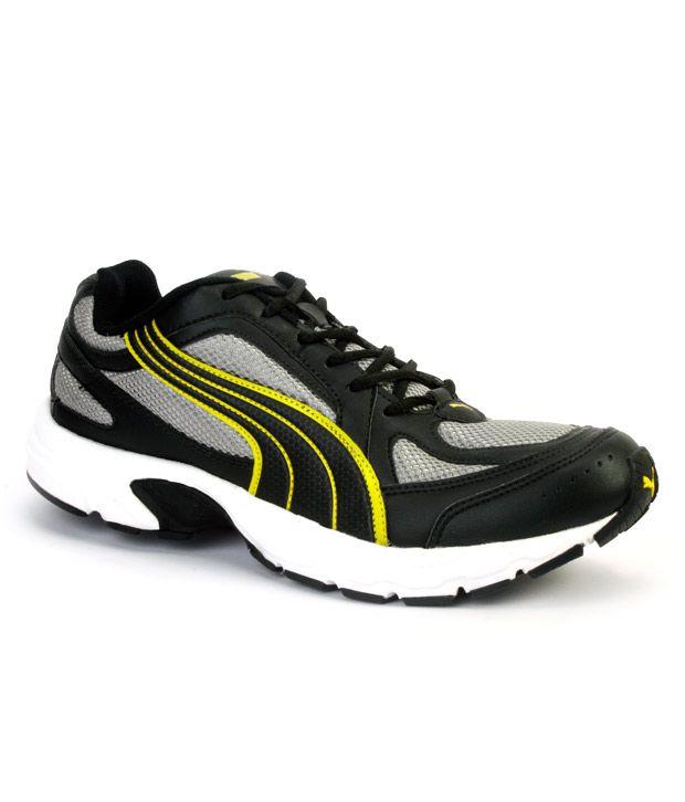 Puma Ceylon Black \u0026 Yellow Running