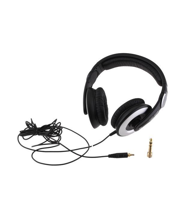 sennheiser hd 205 over ear headphone without mic buy sennheiser hd 205 over ear headphone. Black Bedroom Furniture Sets. Home Design Ideas