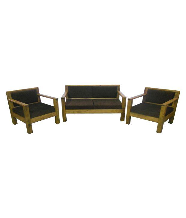 Sheesham Wood Simple Sofa Set(2+1+1) - Buy Sheesham Wood ...