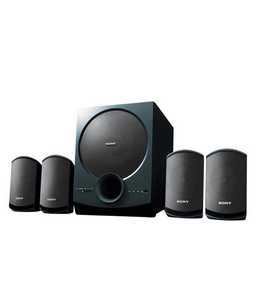 Sony Speakers SA-D10 (Black)