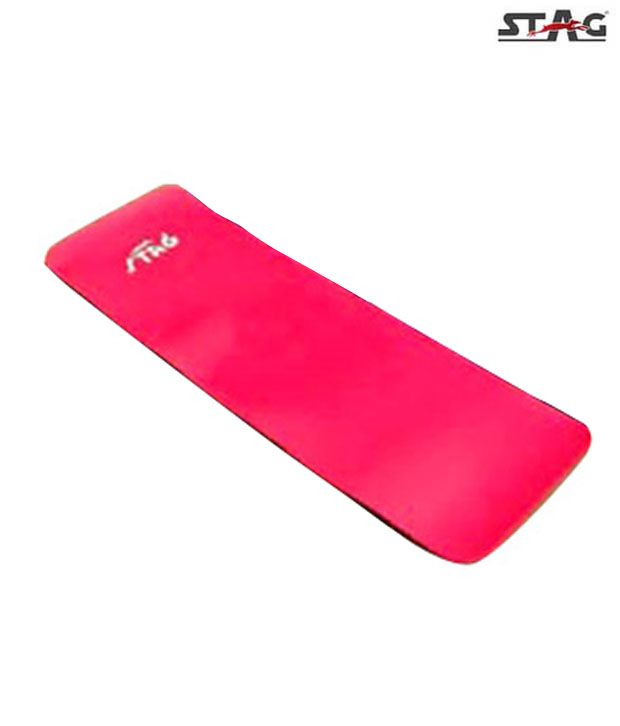 Stag Yoga & Pilates Mat (Red): Buy Online At Best Price On