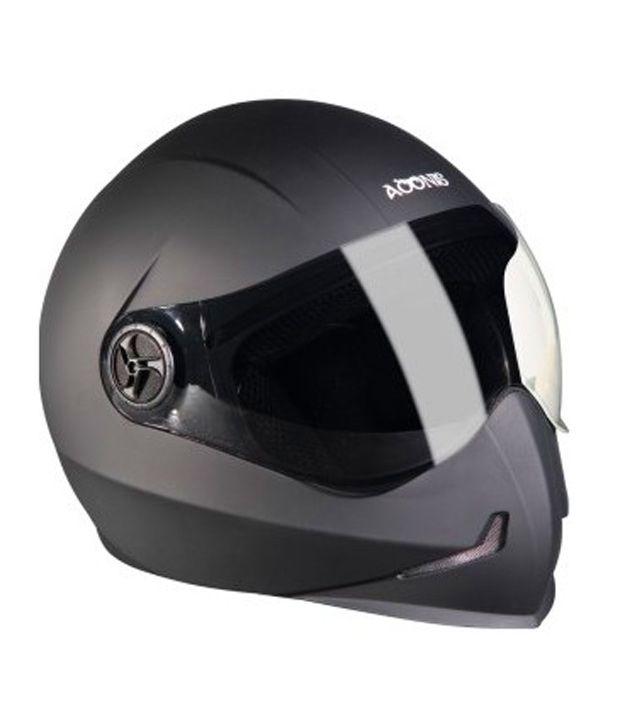 af20edb5 Buy Steelbird - Full Face Helmet - Adonis (Glossy Matte Black) [Size :  60cms] on Snapdeal | PaisaWapas.com