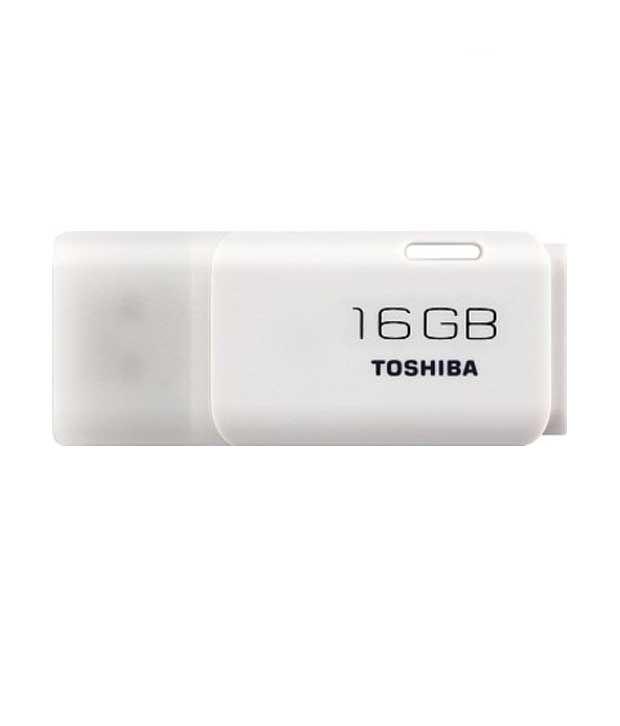Toshiba 16GB Hayabusa Pen drive (White)