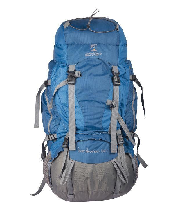 Wildcraft Karakoram 60 Blue Rucksacks