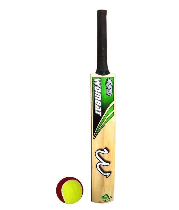 Wombat Tennis Cricket Bat Tennis Ball Buy Online At Best Price On