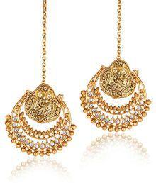 Deepika's Ramleela Chandelier Earrings By Shinning Diva