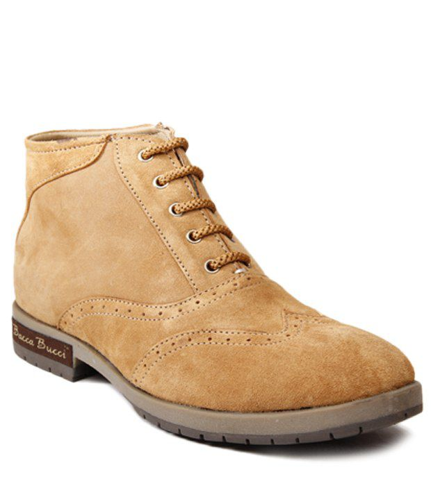 Bacca Bucci Tan Ankle Length Boots