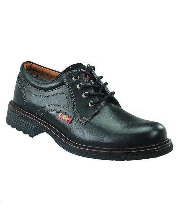 9c778fdf8f Buy Lee Cooper Polizia Black Men Formal Shoes on Snapdeal   PaisaWapas.com