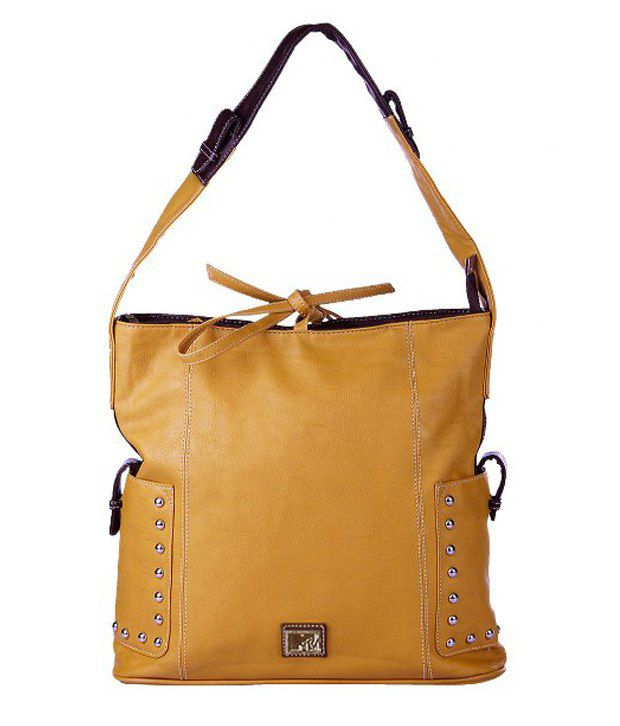 MTV Stylish Brown Shoulder Bag