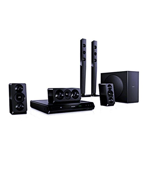 d8621c0e3 Buy Philips HTD5540 94 5.1 DVD Home Theatre System Online at Best Price in  India - Snapdeal